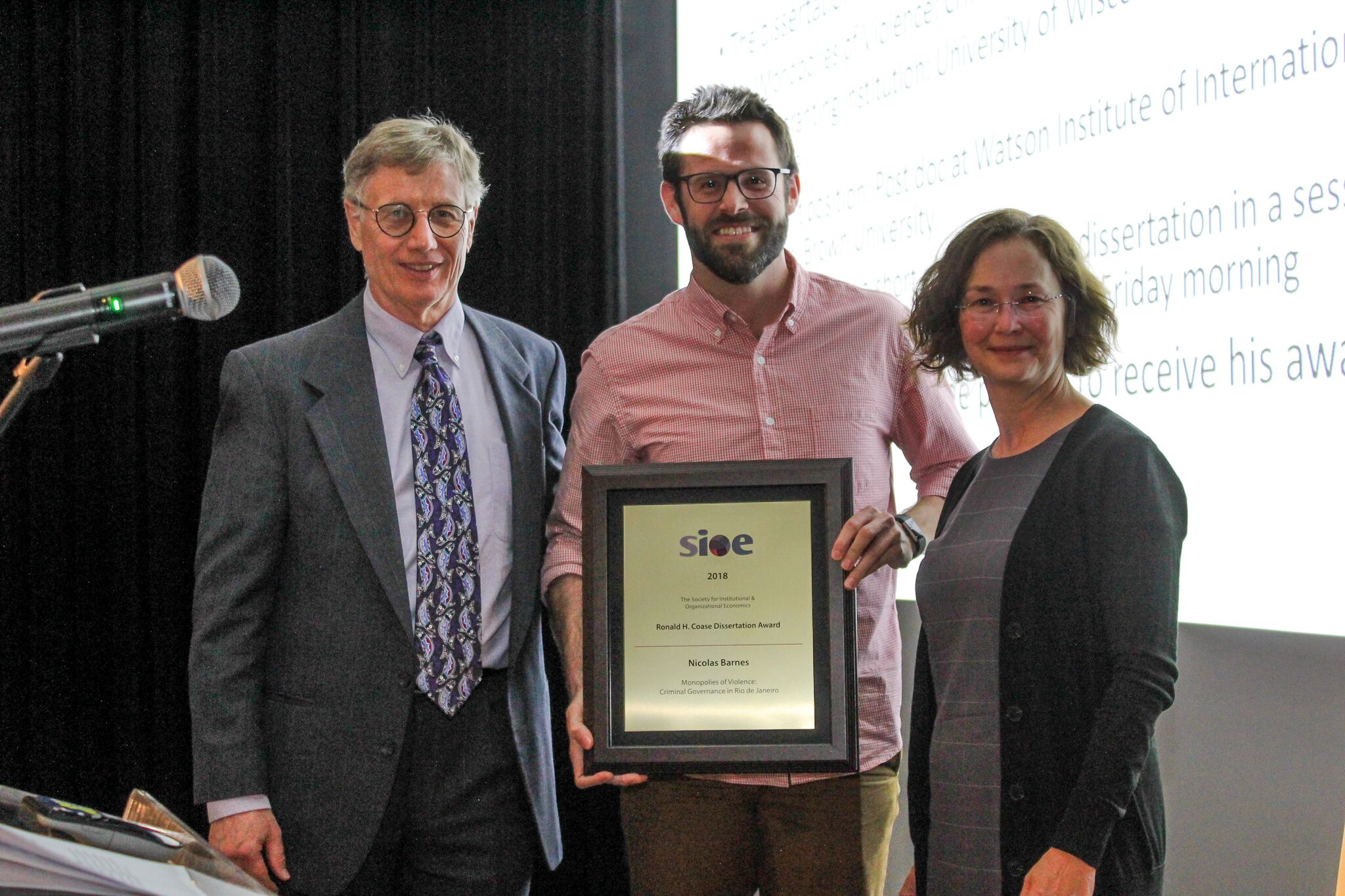 The Best Dissertation Award | Awards |